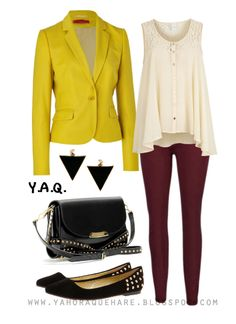 Y. A. Q. - Blog de moda, inspiración y tendencias: [Y ahora qué me pongo con] Un blazer amarillo