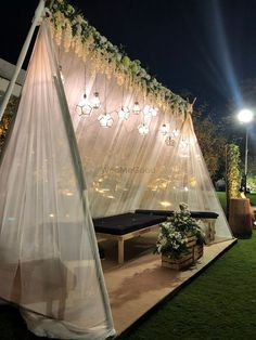 Photo By Just Rajanish Fusion Flowers - Decor Desi Wedding Decor, Wedding Hall Decorations, Luxury Wedding Decor, Diy Wedding Backdrop, Backdrop Decorations, Wedding Mandap, Wedding Receptions, Wedding Ideas, Decoration Evenementielle