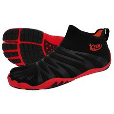 Hero Ninja Shoe Brick - So Cool Hubby would love these toe shoes lol #men #shoes #fashion