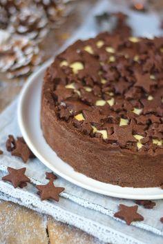 Winterlicher Weihnachtlicher Zupfkuchen mit Sternen (5)