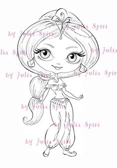 Digi Stamps Digital stamps Coloring pages Line art by JuliaSpiri