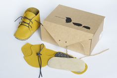 DIY Baby Shoe-Making Kit // My Brooklyn Baby//