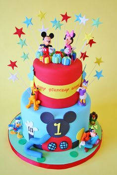 #Disney Mickey Mouse & Friends.  Sweet GraceSweet Grace, Cake Designs