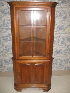 Tell City Andover Corner Cabinet