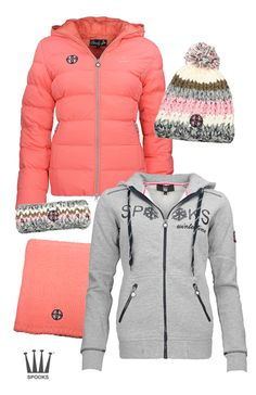 Spooks Winter Coral-Light grey #Epplejeck #spooks #winter16