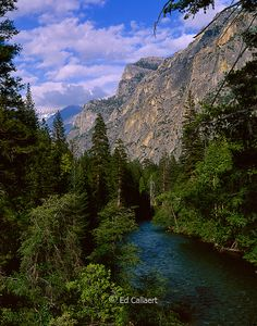 Kings River, Grand Sentinel, Kings Canyon National Park, California