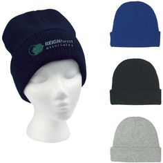 0b19fe33b33 Group Photo Knit Beanie With Cuff Promotional Giveaways