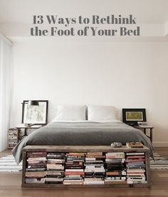 13 Ways to Rethink the Foot of Your Bed | Apartment Therapy