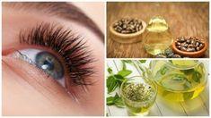 Belleza y Estética Ideas Longer Eyelashes, Tips Belleza, Natural Treatments, Aloe Vera, Mascara, Hair Beauty, Make Up, Health, Nature