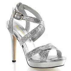 Fabulicious Lumina-21 sexy Burlesque High Heels Plateau Sandaletten, Silber-Glitter, 35-41 - http://on-line-kaufen.de/pleaser/fabulicious-lumina-21-sexy-burlesque-high-heels