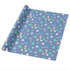 Green blue elephants holding balloons gift wrap baby gifts child shop cute elephants holding balloons gift wrap created by babyshowermadness negle Gallery