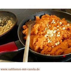 Möhrenpesto aus dem Karottentrester - vegan und unglaublich lecker Es ist einfach zu schade, den Trester wegzuwerfen :)