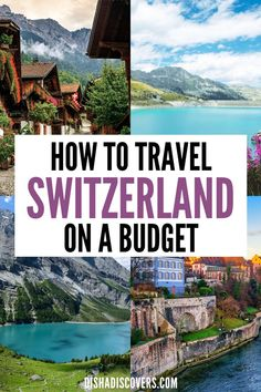 It's totally possible to travel to Switzerland on a budget despite it being an expensive country. Follow these simple money-saving tips and you'll see how it's possible to travel to Switzerland without blowing your budget. | Switzerland on a budget | Switzerland on a budget tips | Switzerland on the cheap | Switzerland budget travel | Switzerland budget | Switzerland travel on a budget | #SwitzerlandBudgetTravel #SwitzerlandBudget #SwitzerlandonaBudget Top Travel Destinations, Europe Travel Guide, Budget Travel, Travel Guides, Cheap Travel, Ways To Travel, Time Travel, Europe On A Budget, European Travel
