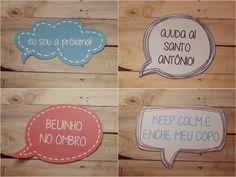 Plaquinhas de Casamento para Balada   Já fez o download das nossas plaquinhas? E o melhor de tudo, são 100% customizáveis!   blogdamariafernanda.com