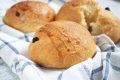 Das #Rosinenbrötchen - #Rezept verspricht eine leckere und schnell zubereitete Frühstücksmahlzeit.