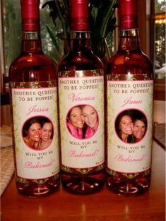 cute way to ask someone to be your bridesmaid...I might steal this idea sometime down the line ;)