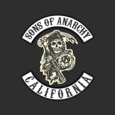 sons of anarchy mayhem line drawing - Google Search