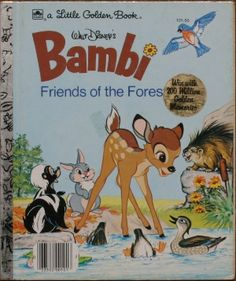 Bambi, Friends of the Forest - Little Golden Book