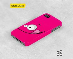3D #iPhone 5 #Case  Lovely Pink Happy Cute Funny Smiling by caselike, $22.00