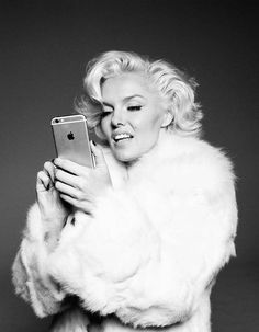 Photographs of What .@MarilynMonroe Would Be Like Today