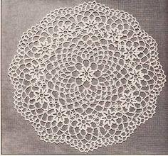 crochet doily patterns ile ilgili görsel sonucu