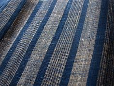 handwoven, nettle and hemp handwoven (Harue Nishikawa)