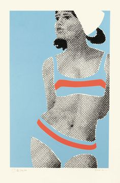 Gerald Laing 'Stacy' 1968