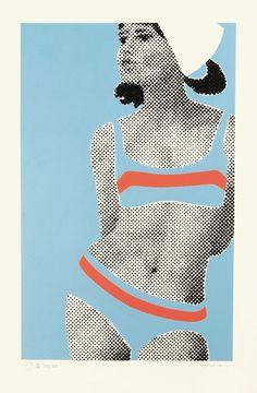 Gerald Laing (1937-2010, UK) - 'Stacy' 1968