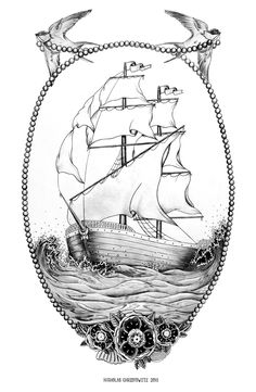 The Ship by Nicholas Christowitz, via Behance