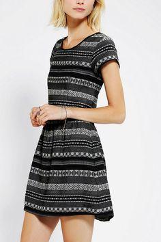 Insight Jasper Jacquard Dress #urbanoutfitters