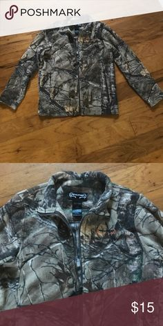REALTREE Camo Fleece Realtree camo fleece in excellent condition. Size M • 100% Polyester Realtree Jackets & Coats