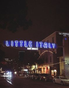 San Diego, Broadway Shows, Neon Signs