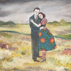 Nigel and Lily embrace as the storm passes by Amanda Blake