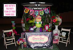 GG Trunk or Treat 2012 - Mad Hatter's Tea Party Theme