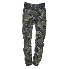 G Star Raw Camo Trousers ($100) ❤ liked on Polyvore featuring men's fashion, men's clothing, men's pants, men's casual pants, olive, mens multi pocket cargo pants, mens baggy cargo pants, mens zipper pants, mens zip off cargo pants and mens camo cargo pants