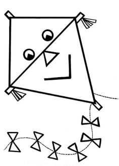 A Good Kite Coloring Pages