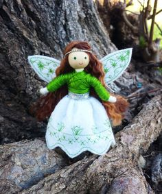 Fairy Doll  Waldorf Fairy  Handmade  Bendy by WildflowerInnocence