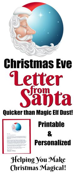 Easy Free Letter From Santa Magical Package  Nice List