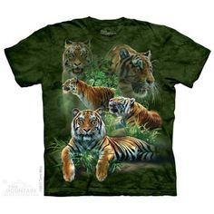 The Mountain Jungle Tigers T-Shirt
