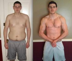 """Jonathan K. lost 43 LBS and 7"""" off his waist! Fitness Program: Insanity® Nutrition Supplement: Whey Protein """"I chose Insanity because it was 100% body weight, I didn't need to buy extra weights. Everything I needed for was already at my disposal... It kicked my [butt]. It was a non stop battle I was determined to win. I lost 43lbs from doing insanity, and my health improved drastically. When i pick up a 45lb plate at the gym I realize that I used to have that strapped to my body at all times"""