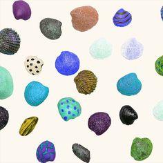 HELLIN Shell Shore (Simpukkaranta) Shells, Plates, Tableware, Design, Conch Shells, Licence Plates, Dishes, Dinnerware, Clams