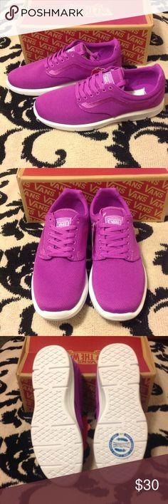 New Vans (Mesh) neon purple Vans Shoes Sneakers