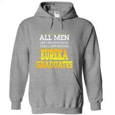 Eureka College Graduates For Men - #tee shirt #sweatshirt and leggings. SIMILAR ITEMS => https://www.sunfrog.com/Funny/Eureka-College-Graduates-For-Men-SportsGrey-kdhd-Hoodie.html?68278
