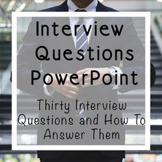 Start class right with this collection of interview questions and concise tips on how to answer them. What a great way to get to know your students and build relationships while building interview skills.Slides are animated so students can try answering the questions before learning tips for the cor...