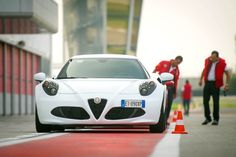 Quadrifoglio Verde Warm up in Adria Raceway
