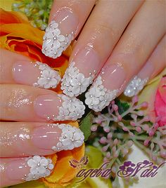 Beautiful nails - wedding