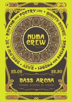 În seara de 25 martie, echipa Electric Playground aduce în fața ta doi DJ de la NUMA CREW. Martie, Bass, Lowes, Double Bass