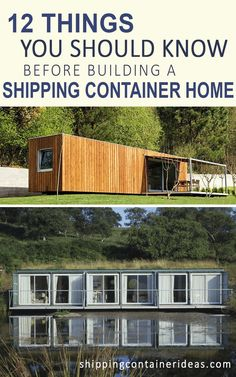 10 Things You Should Know Before Building a Shipping Container Home  by ShippingContainerIdeas.com  Shipping container homes, shipping container houses, cargo container homes, tiny houses, tiny homes