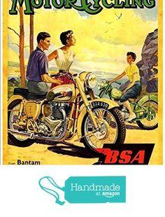 Official t shirt bsa british moto noir spitfire vintage moto tous les s