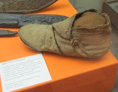Jorvik Boot from the Yorkshire Museum